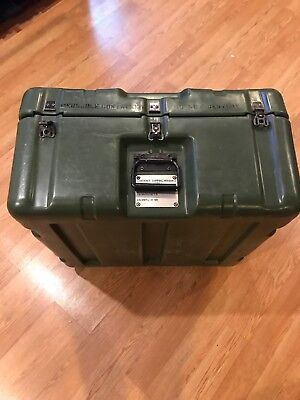 """Pelican Hardigg Military Large Transport Storage Tool Case and Box 28""""x28""""x16"""""""