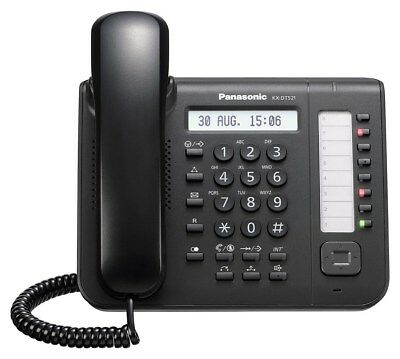 NEW Panasonic KX-DT521 UK Black Digital Proprietary Telephone Phone