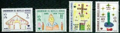 New Hebrides (French)– 1979  – Christmas   – Vf **