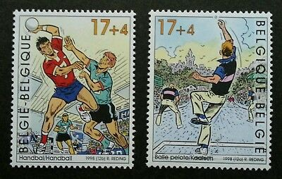 Belgium Sport 1998 Handball Games Cartoon Animation (stamp) MNH