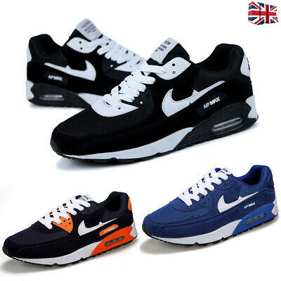 Mens Men Running Trainers Absorbing Comfy Skateboarding Shoes Sport Breathable
