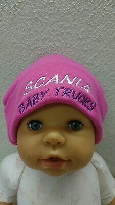Scania Girls 0-12 Months Beanie Hat Style 1