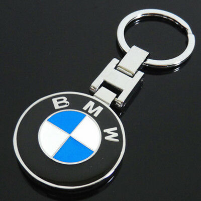 Auto Car Logo Metal Key Chains Pendant Holder Keyring Keychain for BMW Models