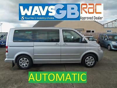 Volkswagen Caravelle 2.5TDI 174PS auto Wheelchair Access Vehicle WAV