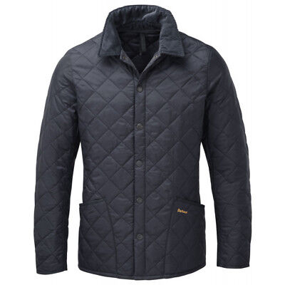 Barbour Heritage Men'S Liddesdale Quilted Jacket Navy Size Xxs