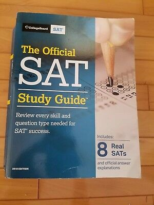 The Official SAT Study Guide, 2018 Edition by The College Board (2018 Edition)