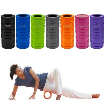 Yoga, Pilates and Sports Exercise Hollow Foam Roller. High Density EVA.
