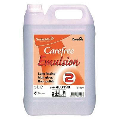 Carefree Floor Emulsion 5 Litre (Pack of 2) 403190 [DV40319]