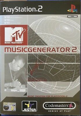 MTV MUSIC GENERATOR 2 For Sony PS2 PlayStation 2 Supplied Complete (Free  Post)