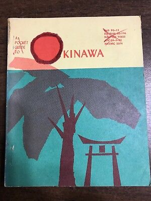 A Pocket Guide To Okinawa by Department of Defense 1961