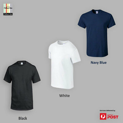 ColourTees Men's Crew Neck Basic Tee 100% Cotton Custom Fit Solid T-Shirt