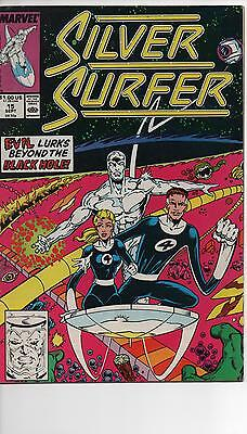Silver Surfer Vol 3 #15 Nm- 1St Silver Surfer Ron Lim Art!