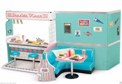 """American Girl Maryellen's Seaside Diner 18"""" Doll Play Kitchen NEW IN BOX NRFB"""