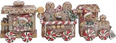 Miniature Dollhouse FAIRY GARDEN - Gingerbread Train - Accessories