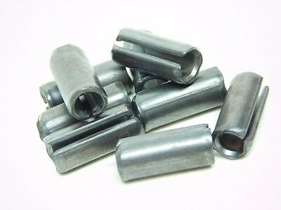 "( 25 PACK! ) 5/16"" Dia x 3/4"" Length Plain Slotted Roll Spring Pin FREE SHIP! NH"