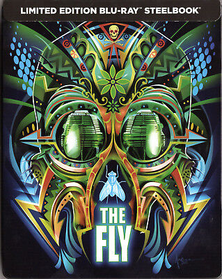 The Fly (1986) - Limited Edition SteelBook [Blu-ray] New & Sealed!