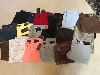 NWT NYDJ Not Your Daughters Jeans WHOLESALE LOT of 10 Pants Leggings Size 0P