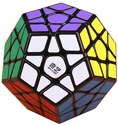 12 Sided QiYi Megaminx QiHeng Speed Cube Magic Twist 3D Puzzle Brain Teaser