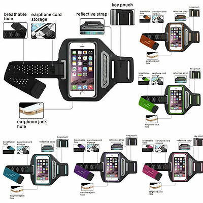 Universal Sport Armband for Iphone 8, 8 Plus, 7, 7 Plus, to 5.5in Running Pouch