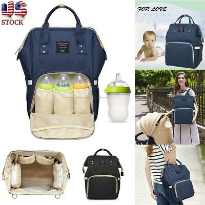 Mummy Bag Nappy Bag Large Capacity Baby Bag Travel Backpack Desiger Bag Nursing