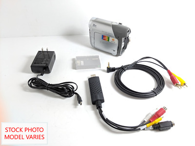 Canon Camcorder for 8mm Hi8 MiniDV Tape Transfer to Computer USB Capture Device