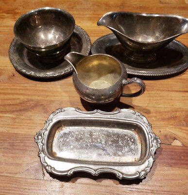 Silver Plated Dishes/ WMA Rodgers/ Castleton Int. Silver Co.