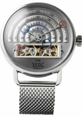 NEW Xeric Halograph Automatic Mesh Silver | AUTHORIZED DEALER