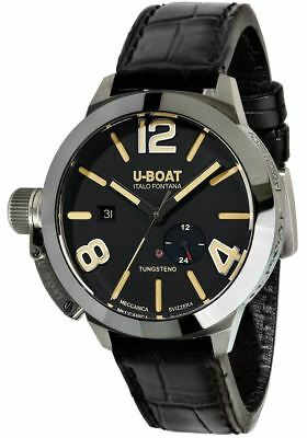 NEW U-Boat 9006 Stratos 45 Slim Automatic Classico Black | AUTHORIZED DEALER