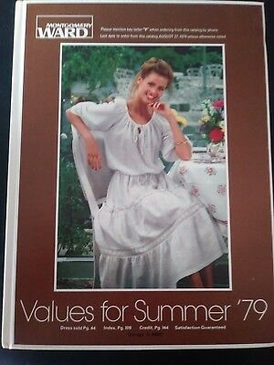 1979 MONTGOMERY WARD Values for Summer  Catalog  for '79  - Hardcover