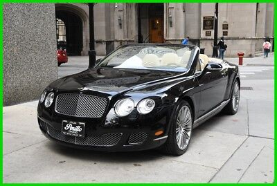 2010 Bentley Continental GT 2010 Bentley GTC Speed, black/linen, rudy@7734073227