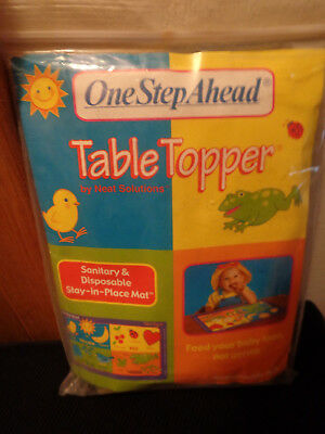 Neat Solutions One Step Ahead Table Topper - 20 Disposable Mats - Stay in Place