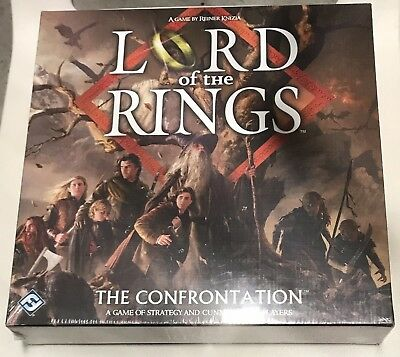 New Lord Of The Rings The Confrontation Game By Knizia