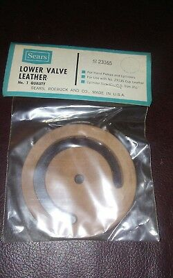 Water Well Hand Pitcher Pump Replacement Valve Leather...**best Price On Ebay**