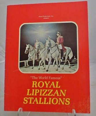 The World Famous Royal Lipizzan Stallions History and Program Arena Productions