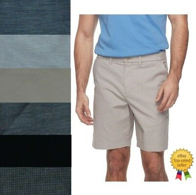 a44b74b926 LEE MENS DUNGAREES Walker Belted Flat Front Shorts size 29 33 36 38 ...