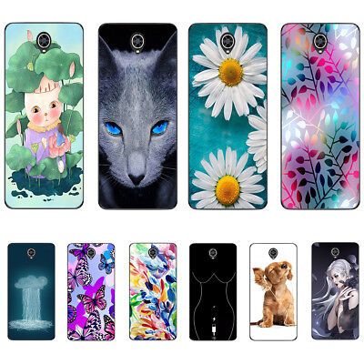 Cell Soft Phone Cover For Alcatel 3X 3V 3C 3L Alcatel 3 Case Cat Dog Butterfly