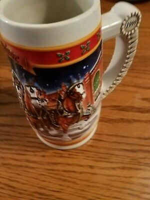 1999 Buudweier Holiday Stein. CS389 A Century of Tradition
