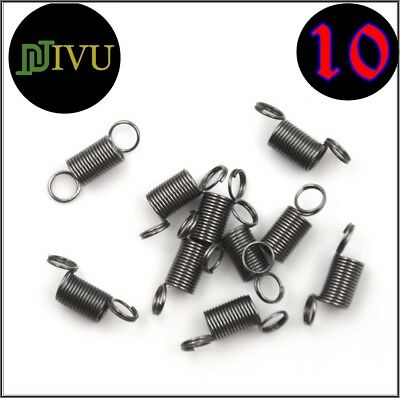 10 X 15 mm Stainless Steel small Tension Spring With Hook For Tensile DIY Toy