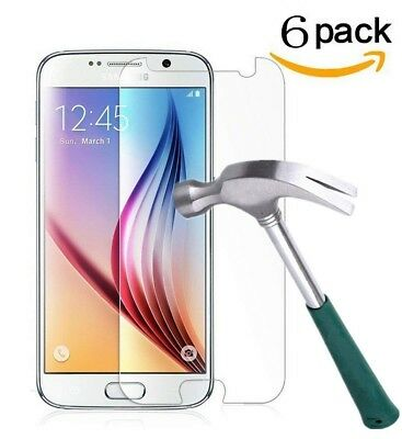 6PCS 9H Premium Tempered Glass Screen Protector For Samsung Galaxy J5 J3 J7 2017
