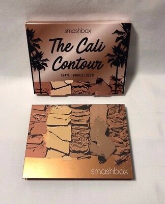 SMASHBOX THE CALI CONTOUR PALETTE - Shape, Bronze, Glow! NIB Great Gift