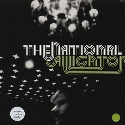 The National Alligator 180gm LIME GREEN vinyl LP + download NEW/SEALED