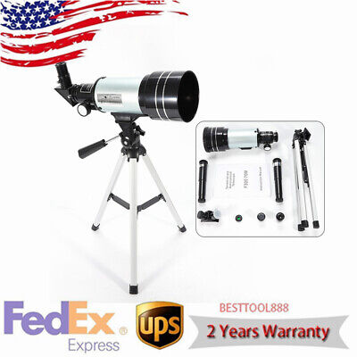 40070 Refractor Astronomical Telescope With Tripod & Aiming Control For Beginner