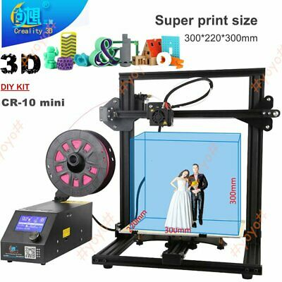 300*220*300mm Creality CR-10mini STAMPANTE 3D DIY KIT 3D STAMPA GRANDE FORMATO
