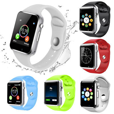 Waterproof A1 Smart Wrist Watch Bluetooth GSM Phone For Android Samsung iPhone @