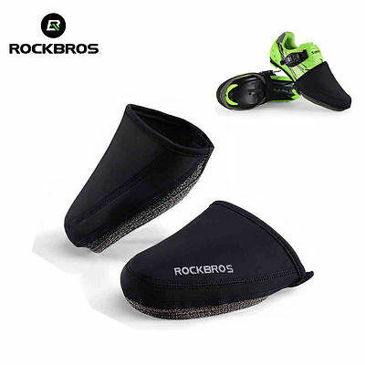 ROCKBROS Cycling Shoe Cover Windproof Keep Warm Half Overshoe Bicycle Shoe Cover