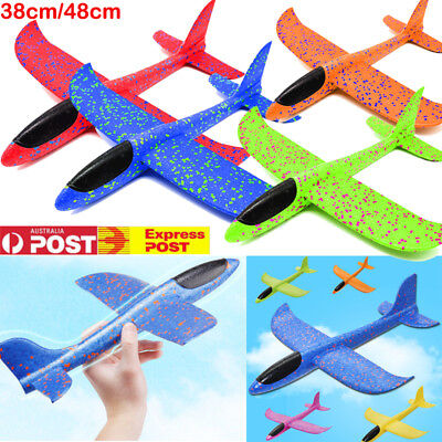48cm EPP Foam Hand Throw Airplane Outdoor Launch Glider Plane Kids Gift Toy C6V2