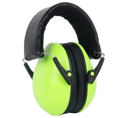 Kids Childs Ear Defenders Earmuffs Protection Silver Baby 2yrs+ Boys Girls USA