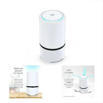 Net-Dyn Air Purifier USB Filter, HEPA Filtration Small Personal Desktop Home