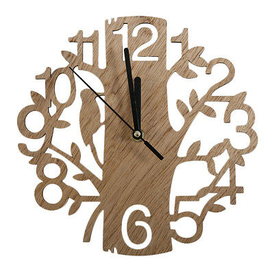 Vintage Design Wall Clock Fashion Style Home Living Room Clock Square Shape~LY