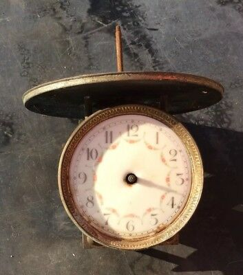 Untested French Antique Clock Movement and Dial